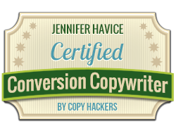 Certified Conversion Copywriter & Content Marketer