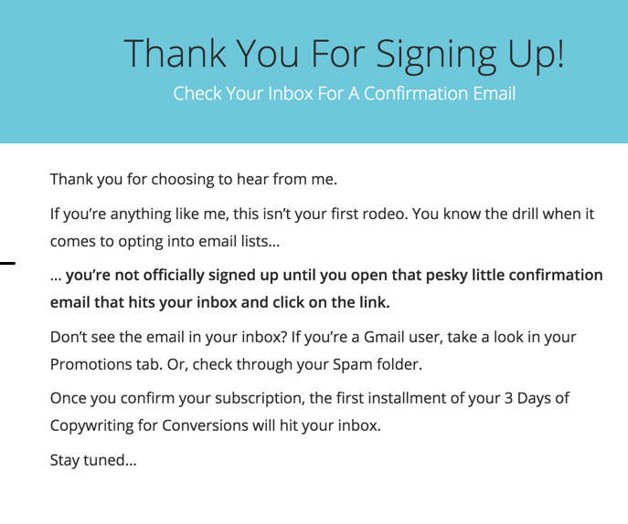 how to build an email opt in process
