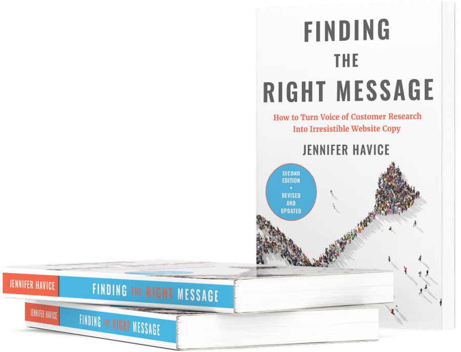 Finding the right message bok